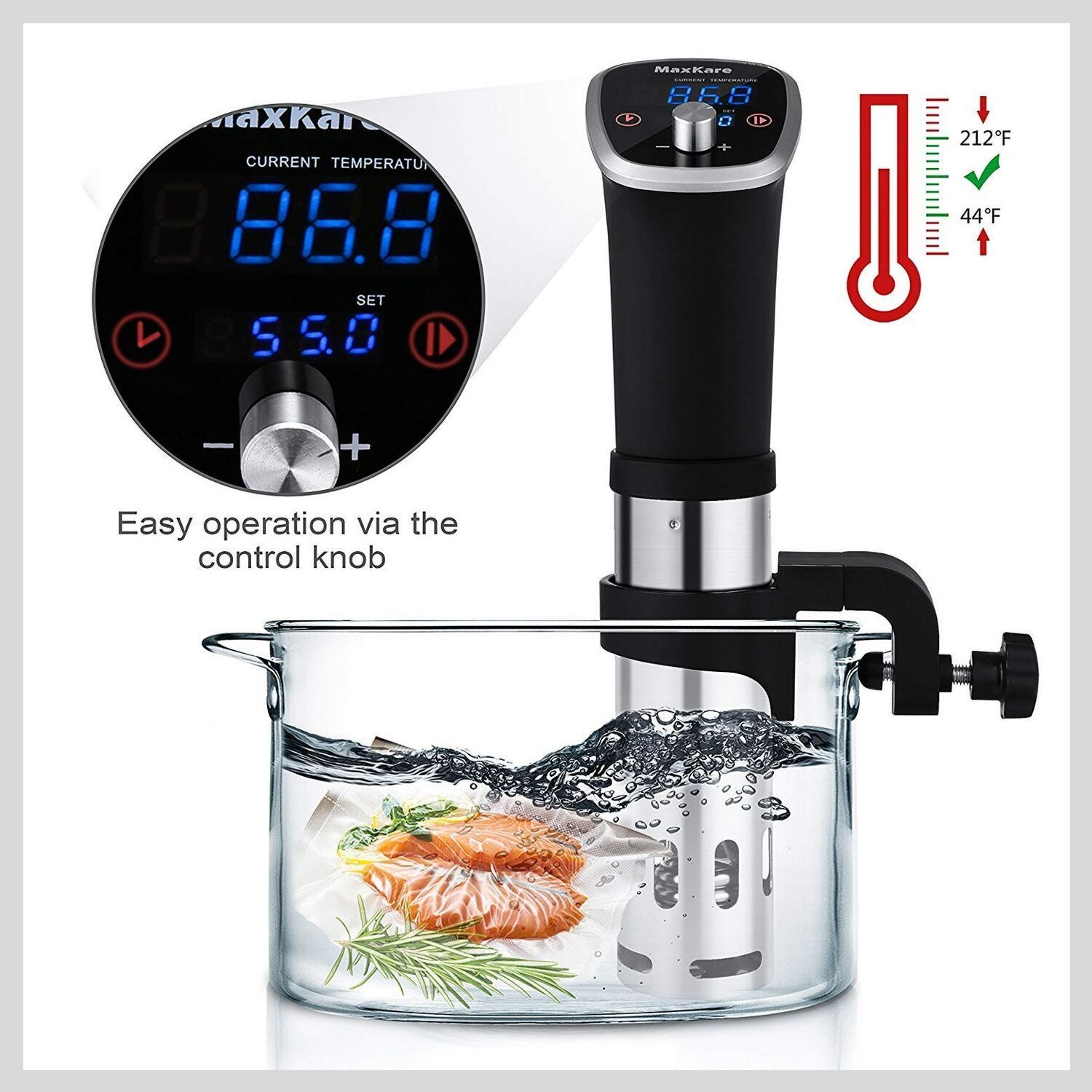 MaxKare Sous Vide Machines Cooker
