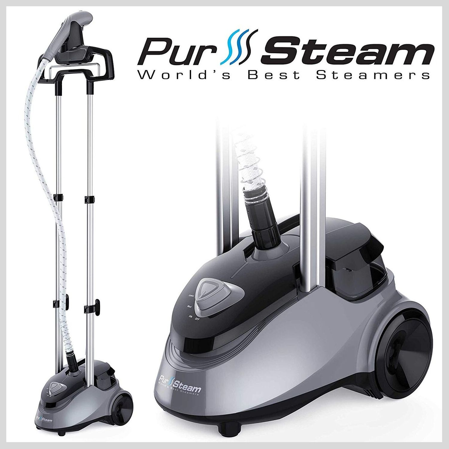 PurSteam Full Size - Professional Garment Fabric Steamer