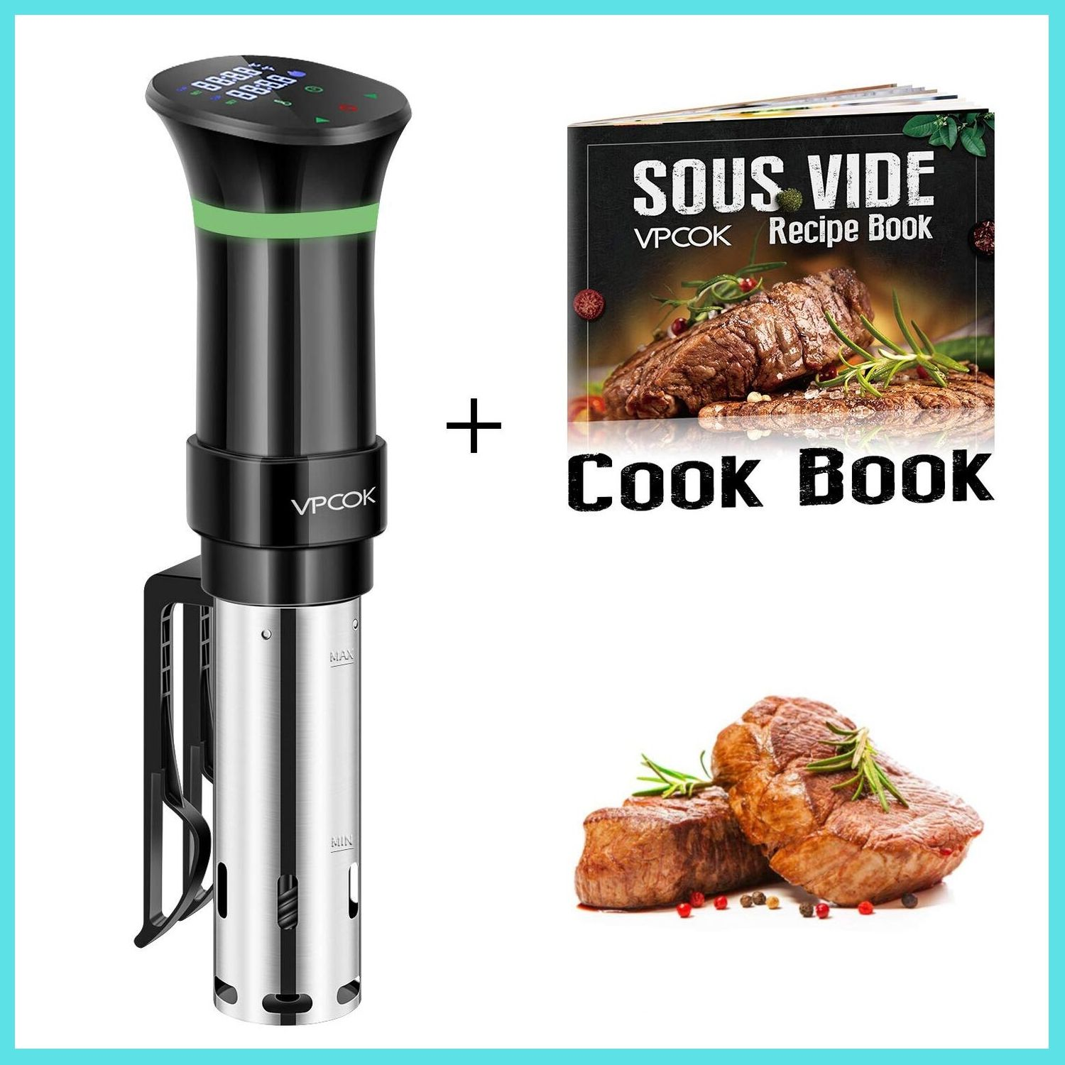 VPCOK Sous Vide Cooker Accurate Immersion