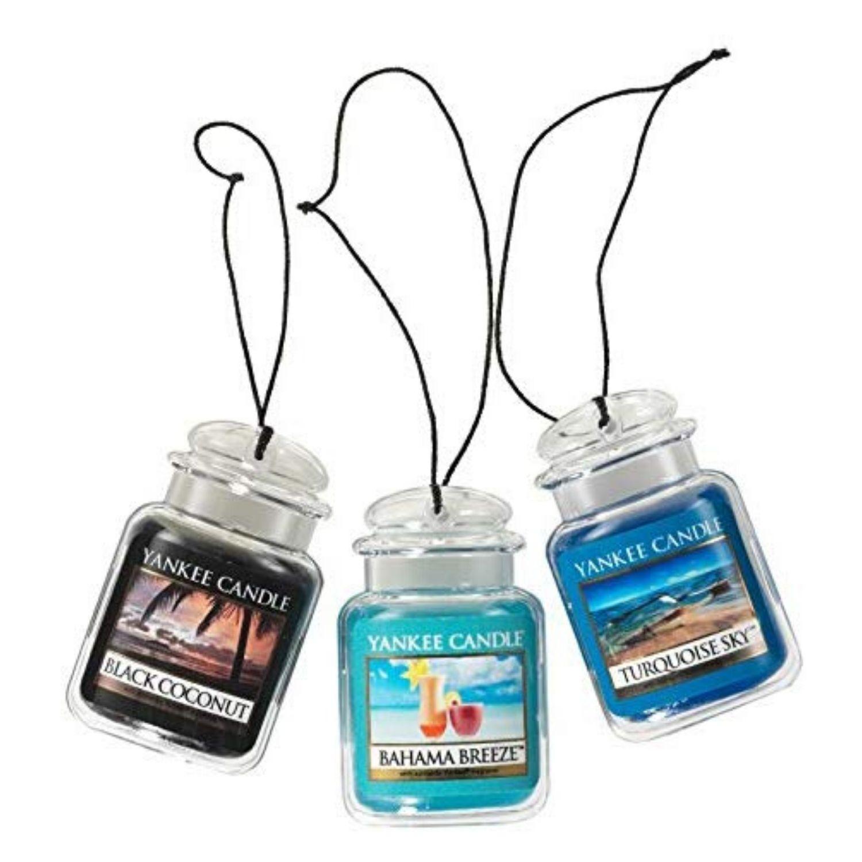 Yankee Candle Car Jar Ultimate Hanging Air Freshener 3-Pack