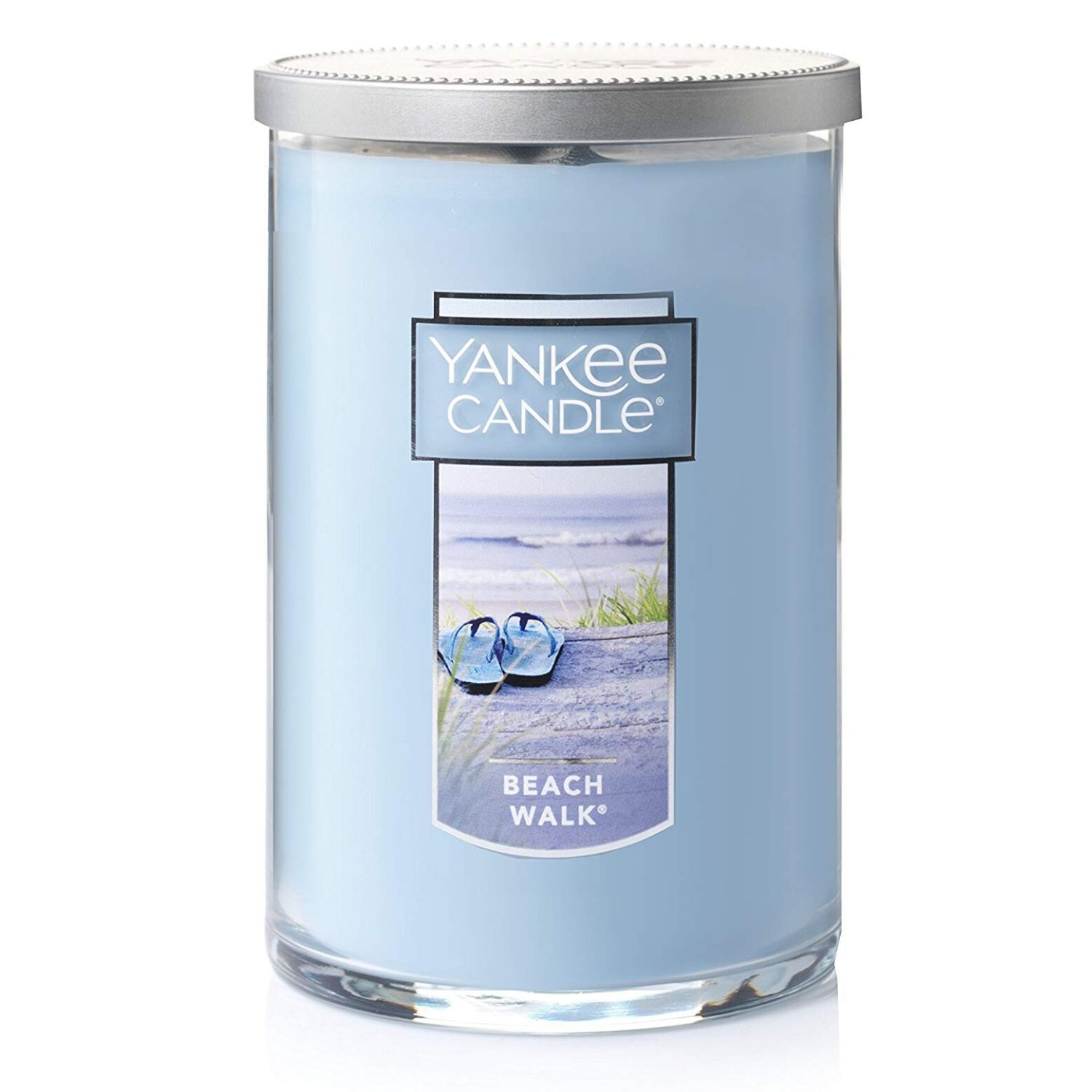 Yankee Candle Large 2-Wick Tumbler Candle, Beach Walk