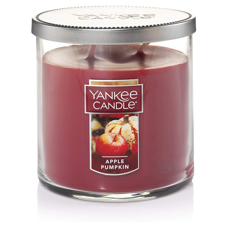 Yankee Candle Medium 2-Wick Tumbler Candle, Apple Pumpkin