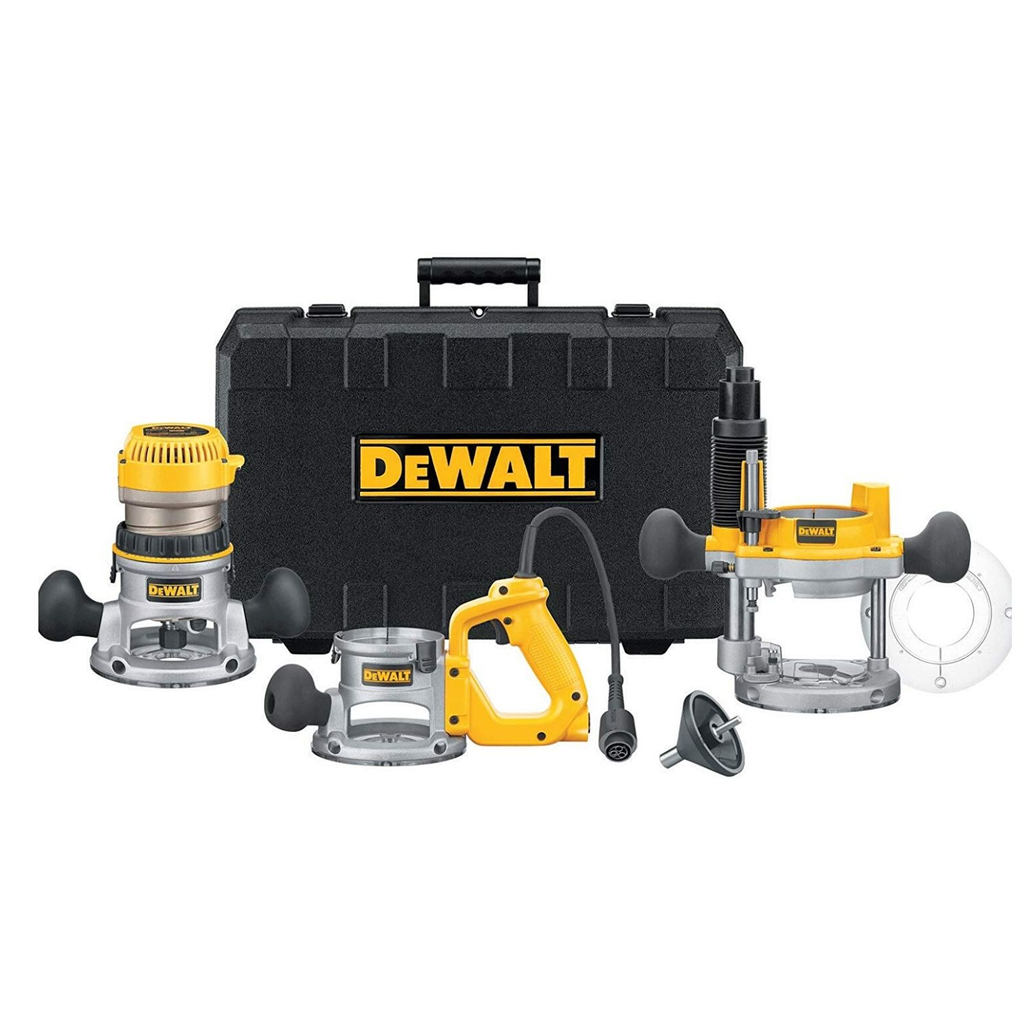 DEWALT DW618B3 12 Amp 2-1_4 Horsepower Plunge Base and Fixed Base