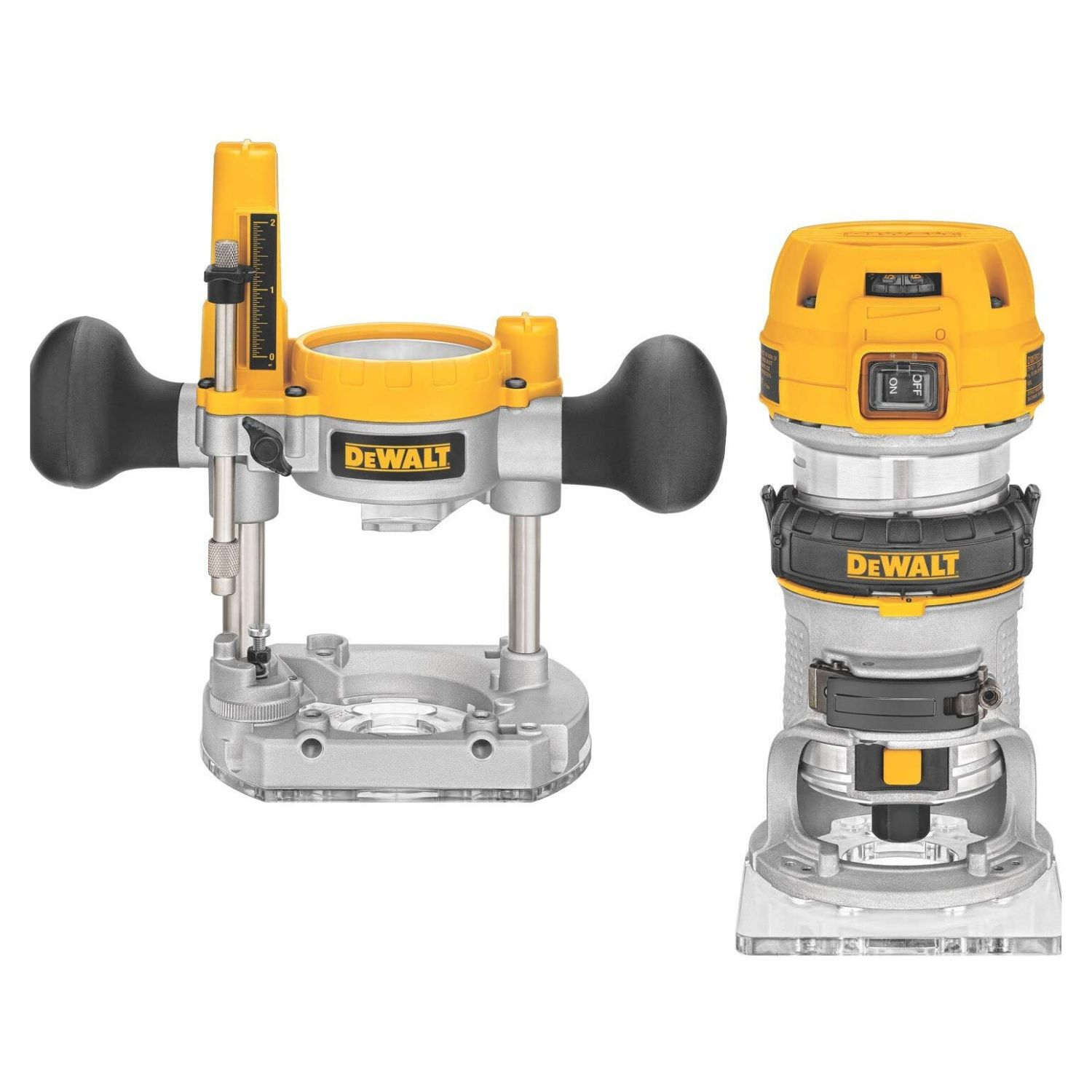 DEWALT Router Fixed Plunge Base Kit, Variable Speed router